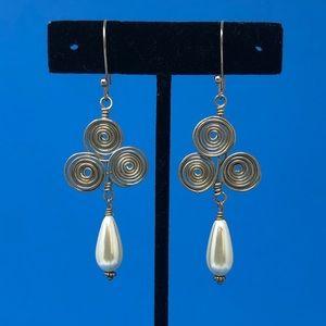 Artisan Handbent Earrings